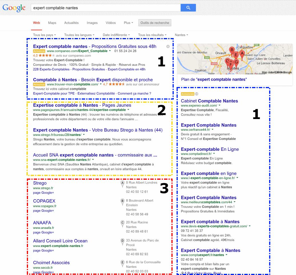 Comment apparaître sur Google?