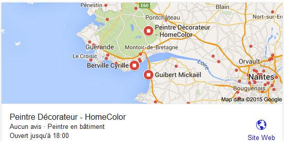 La mise à jour des résultats locaux par Google en août 2015
